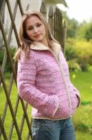 Жакет Мелодия розовый.